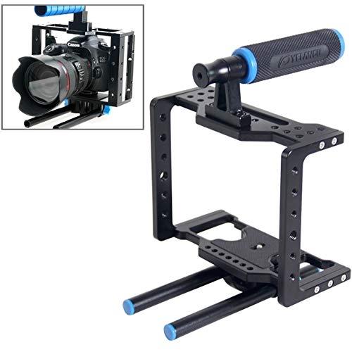 カメラアクセサリーYLG0108DユニバーサルプロテクティブDSLRカメラケージスタビライザー/トップハンドルセット   B07PFK37B4