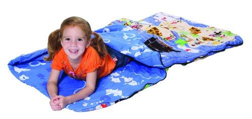 Bazoongi Pirates of the Sea Kids Slumber Bag, Outdoor Stuffs