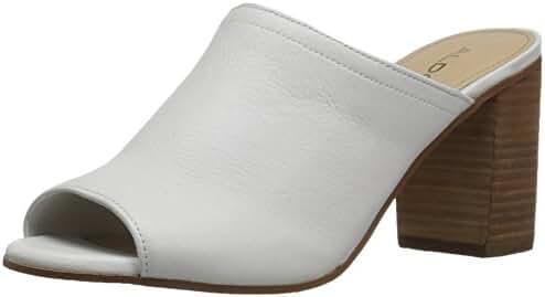 Aldo Women's Dorthy Heeled Sandal, White