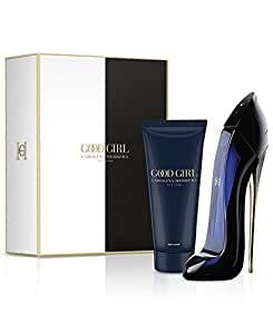 Carolina Herrera Good Girl Gift Set - 2 Pcs ( Eau de Parfum 2.7 Ounce & Body Lotion 3.4 Ounce )