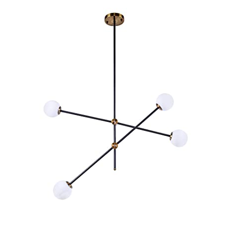 Ceiling Lights Ceiling Lighting Modern 3 Way Twisted Matt Black Ceiling Light with Frosted Glass Shades