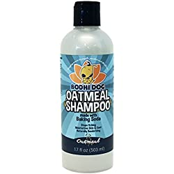 NEW All Natural Pet Oatmeal Shampoo | Hypoallergenic Conditioning and Deodorizing Formula for Dogs Cats & More | Treatment Wash to Sooth Dry Itchy Skin | Relieving Aloe Vera, Vitamins & Conditioner