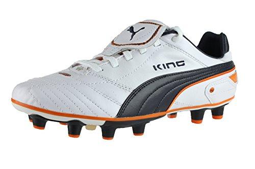 Puma King Finale i FG 101997 Herren Sportschuhe - Fußball Weiss (white-dark navy-team orange 04)