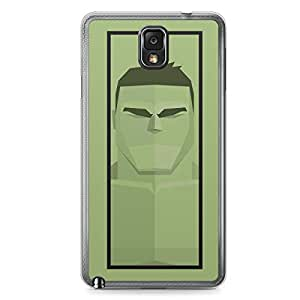 Hulk Samsung Note 3 Transparent Edge Case - Street Fighter Polygonal Collection
