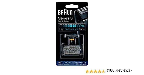Braun 31B/Series 3 Marrón: Amazon.es: Hogar