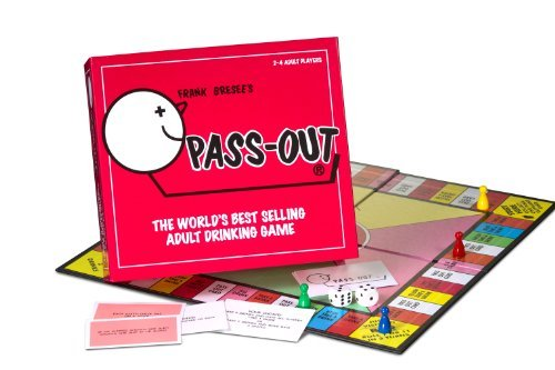 Pass Out: The World's Best Selling Adult Drinking Game by Paul Lamond Games