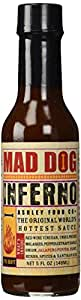 Mad Dog Inferno Hot Sauce 5 oz