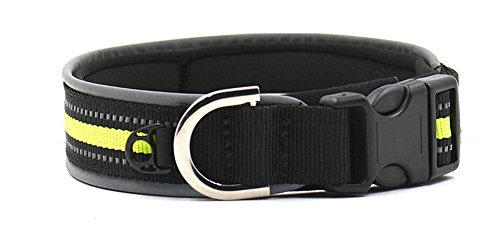 Zero Premium Reflective Dog Collar Explosion-Proof Resistance To Bite Resistance To Pull For Golden Retriever Husky Labrador Dog Collar Small And Medium-Sized Dogs - Bell Proof Explosion
