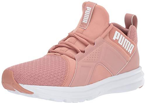 PUMA Women's Zenvo Sneaker, Cameo Brown White, 7.5 M US