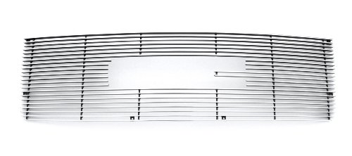 TRex Grilles 21207 Horizontal Aluminum Polished Finish Billet Grille Overlay for GMC Sierra 2500HD/3500