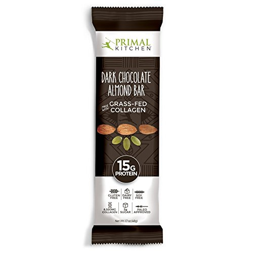 Primal Kitchen – Coconut Cashew, Dark Chocolate and Hazelnut Protein Bars, Variety 3 Pack – Made with Grass–Fed Collagen (Protein), Hazelnuts & Organic Fair–Trade Cocoa (18 Bars Total) by Primal Kitchen (Image #3)
