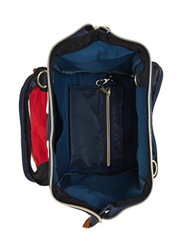 Kah Backpack amp;Kee Nylon 3 Handbag bag Tricolor Bags ways Shoulder RR8qwxr
