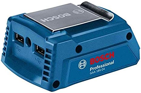 Bosch Professional GAA 18V-24 - Cargador USB batería de litio (18V)
