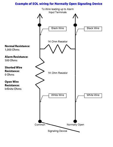 resistor packs  qty 10  spider security dst 1k2k respk end