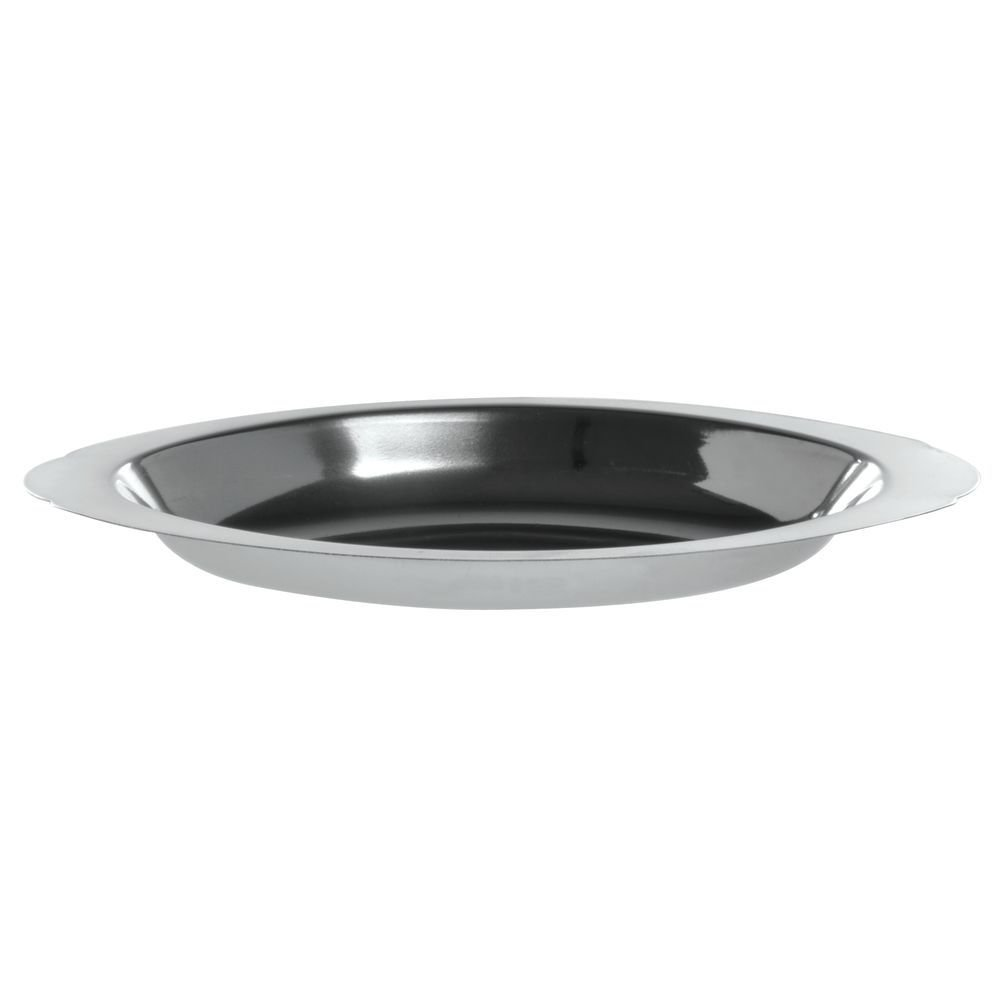 HUBERT Au Gratin Dish, Stainless Steel Oval 12 Ounce