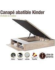 Naturconfort Canapé de Madera Kindeer 180x200cm