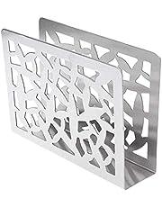 bobotron Servetthållare rostfritt stål bordsservetthållare för pappershanddukar metallst? Ner servetthållare för kök restaurang festdekoration