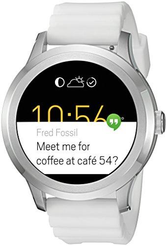 Fossil Q Founder Gen 2 Touchscreen White Silicone Smartwatch