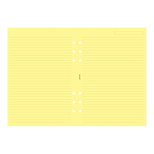Filofax A5 Ruled Yellow (B343010)