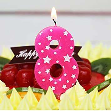 Maslin Number Birthday Candles 1 2 3 4 5 6 7 8 9 0 Kids Adult