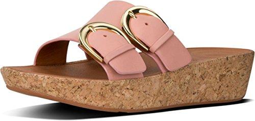 Femme TM Ouvert Pink FitFlop Buckle Sandals Dusky Duo Bout Slide g0wOaq0