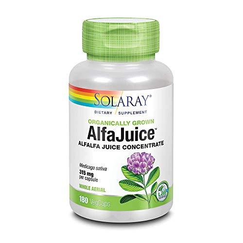Solaray Alfajuice 550 mg VCapsules, 180 ()