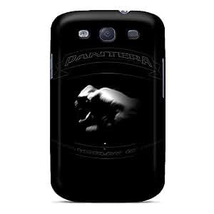 DrawsBriscoe Samsung Galaxy S3 Shock Absorbent Hard Phone Cases Unique Design Realistic Pantera Pictures [Tpq17491CHwC]