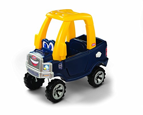 Peel Coupe - Little Tikes Cozy Truck Ride-On with removable floorboard