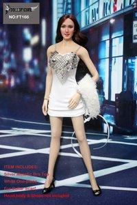 Metallic Female Figure (Artcreator_BM 1/6 PVC Figure Clothing for Metallic Bra & One Piece Set for Female (FT 166))