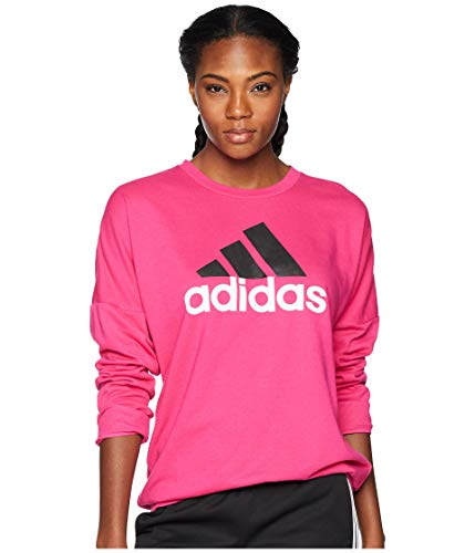 Adidas Badge of Sport Pullover Real Magenta/Black MD