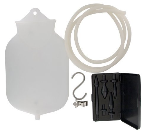 1 Gallon Silicone Enema Set with Comfort Tip by Cleanstream