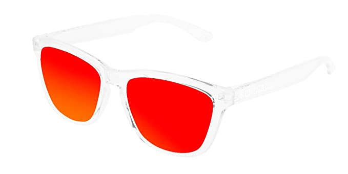 RENEGADE - Gafas de Sol Barcelona Crystal Red: Amazon.es: Ropa y accesorios