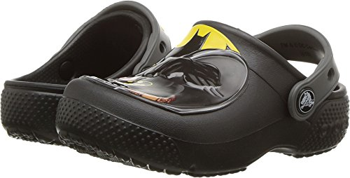 Crocs Boys FL Batman Clog K, Black 12 M US Little Kid (Kids Crocs Clogs)