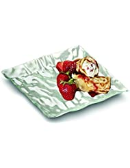 by EMI Yoshi EMI-SP6C Squares 6 Dessert Plate Clear, Set of 10