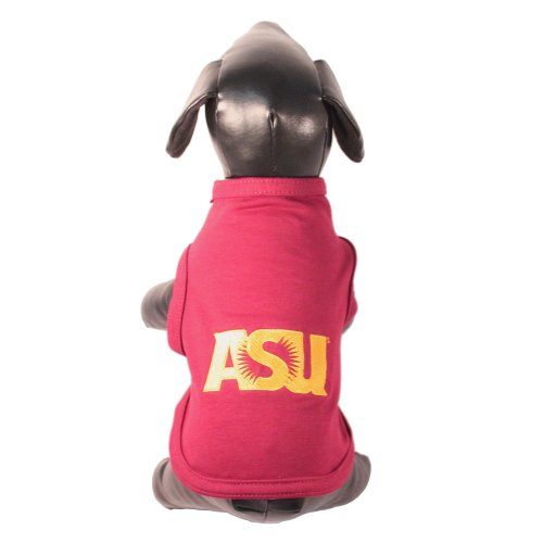 NCAA Arizona State Sun Devils Cotton Lycra Dog Tank Top, Tiny Review