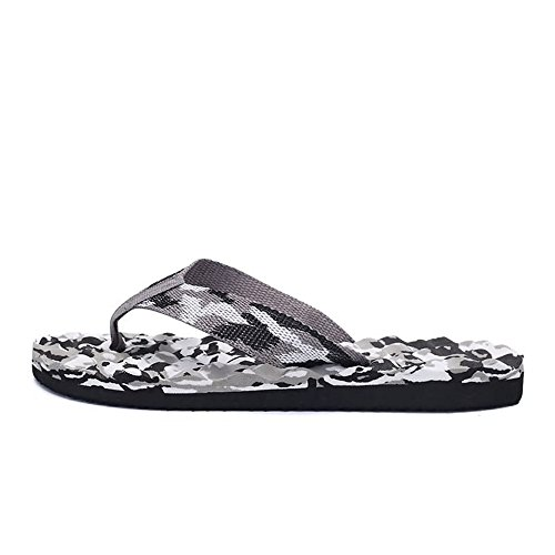 Size Sunny Color 5 8 MUS Men's amp;Baby Beach Classic Cool Slipper Durable Thong Gray Sandals Blue Flip Flops 6xZOrn6Pw
