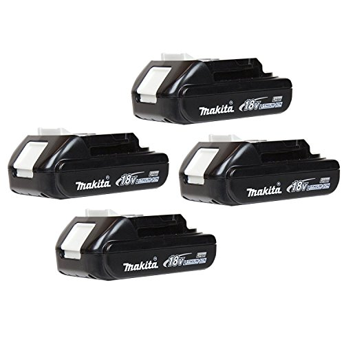 (Makita BL1820 18 Volt 2.0Ah Genuine Lithium-Ion Battery (4-Pack) )