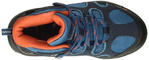 Jack Wolfskin Unisex-Kinder Crosswind Texapore Mid-Top Trekking und Wanderhalbschuhe Glacier Blue