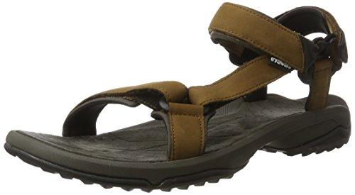 Teva Herren Terra Fi Lite Leather Ms Sandalen Trekking-& Wanderschuhe Braun (Brown)