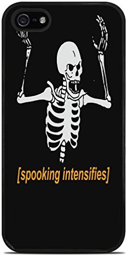 Spooking Intensifies Skeleton Black Silicone Case for iPhone 5 / 5S by egeek amz -