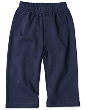 Navy Solid Pant ~
