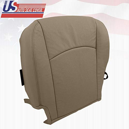 2009-2012 Fits Dodge RAM 1500 Laramie Driver Bottom Perforated Leather SEAT Cover TAN