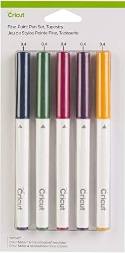 Cricut Fine Point Pen Set, Tapestry