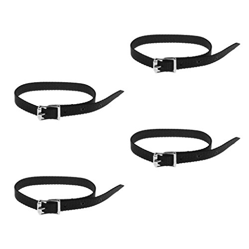 English Spur Belt - Baoblaze Set of 4 Pcs Thickened Weaved English Spurs Straps Belt Horse Riding Equestrian Boots Accessories
