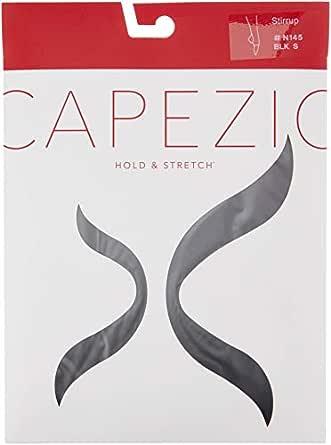 Capezio Women's Hold & Stretch Stirrup Tight, Black, S