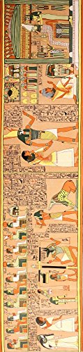The Gods of the Egyptians 1904 The Judgement scene Poster Print by Unknown (18 x 24) (Major Egyptian Gods)