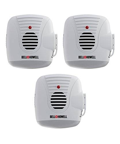 (Bell + Howell Ultrasonic Pest Repeller with AC Outlet and Night Light (Pack of)