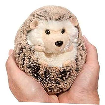 Amazon Com Plush 5 Inch Small Spunky Hedgehog Plush Stuffed Animal