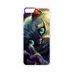 iPhone 6 Plus 5.5 Inch Phone Case White Alice In Wonderland Cheshire Cat V8800523