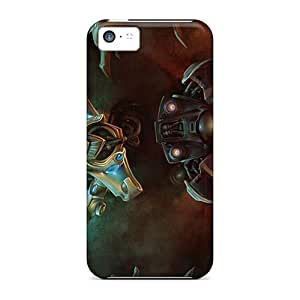 For Iphone 5c Premium Tpu Case Cover Zerg Protective Case